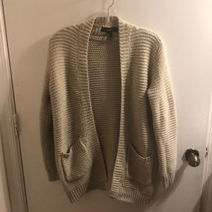 Glittery golden Sweater cover up